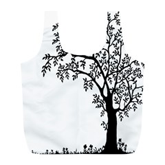 Flowers Landscape Nature Plant Full Print Recycle Bags (l)