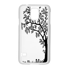 Flowers Landscape Nature Plant Samsung Galaxy S5 Case (white)