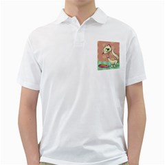 Cat Food Eating Breakfast Gourmet Golf Shirts