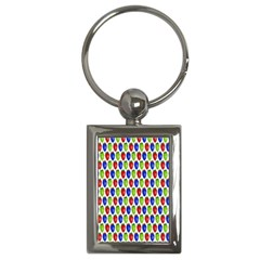 Colorful Shiny Eat Edible Food Key Chains (rectangle)