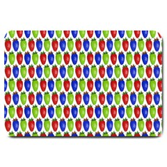 Colorful Shiny Eat Edible Food Large Doormat