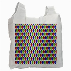 Colorful Shiny Eat Edible Food Recycle Bag (two Side)
