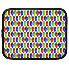 Colorful Shiny Eat Edible Food Netbook Case (xl)
