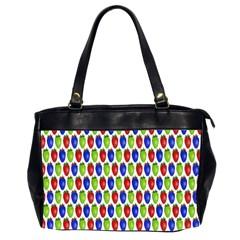 Colorful Shiny Eat Edible Food Office Handbags (2 Sides)