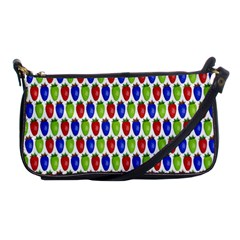 Colorful Shiny Eat Edible Food Shoulder Clutch Bags
