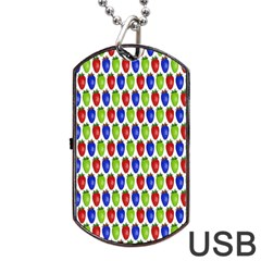 Colorful Shiny Eat Edible Food Dog Tag Usb Flash (two Sides)