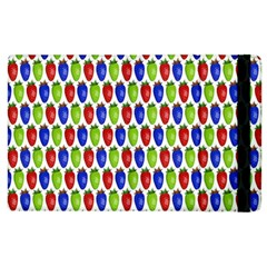 Colorful Shiny Eat Edible Food Apple Ipad 3/4 Flip Case