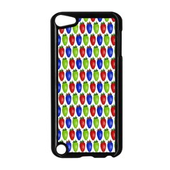 Colorful Shiny Eat Edible Food Apple Ipod Touch 5 Case (black)