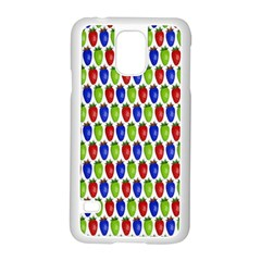 Colorful Shiny Eat Edible Food Samsung Galaxy S5 Case (white)