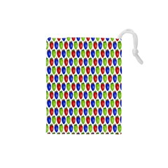 Colorful Shiny Eat Edible Food Drawstring Pouches (small)