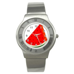 Fruit Harvest Slice Summer Stainless Steel Watch