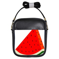 Fruit Harvest Slice Summer Girls Sling Bags
