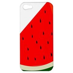Fruit Harvest Slice Summer Apple Iphone 5 Hardshell Case