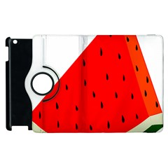 Fruit Harvest Slice Summer Apple Ipad 2 Flip 360 Case