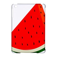 Fruit Harvest Slice Summer Apple Ipad Mini Hardshell Case (compatible With Smart Cover)