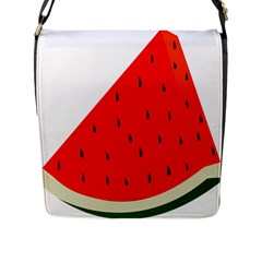 Fruit Harvest Slice Summer Flap Messenger Bag (l)
