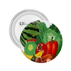 Fruits Vegetables Artichoke Banana 2 25  Buttons