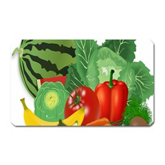 Fruits Vegetables Artichoke Banana Magnet (rectangular)