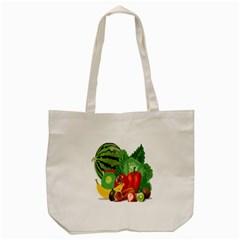 Fruits Vegetables Artichoke Banana Tote Bag (cream)