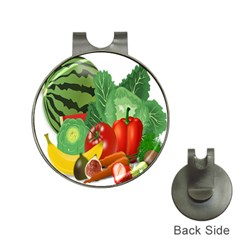 Fruits Vegetables Artichoke Banana Hat Clips With Golf Markers