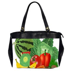 Fruits Vegetables Artichoke Banana Office Handbags (2 Sides)
