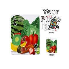 Fruits Vegetables Artichoke Banana Playing Cards 54 (mini)