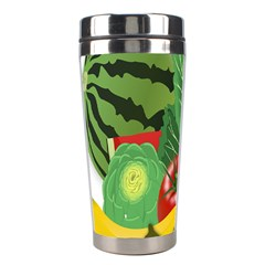 Fruits Vegetables Artichoke Banana Stainless Steel Travel Tumblers