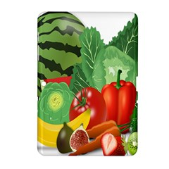 Fruits Vegetables Artichoke Banana Samsung Galaxy Tab 2 (10 1 ) P5100 Hardshell Case
