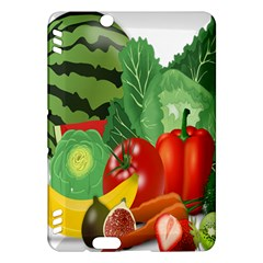 Fruits Vegetables Artichoke Banana Kindle Fire Hdx Hardshell Case