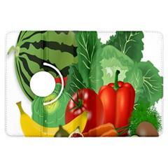 Fruits Vegetables Artichoke Banana Kindle Fire Hdx Flip 360 Case