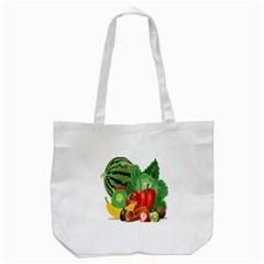 Fruits Vegetables Artichoke Banana Tote Bag (white)