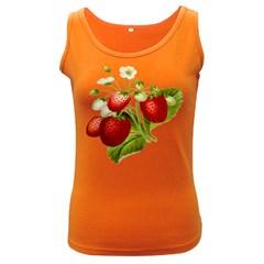 Food Fruit Leaf Leafy Leaves Women s Dark Tank Top