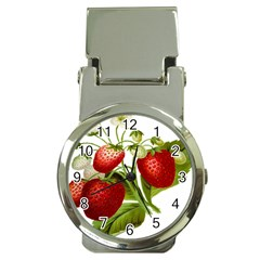 Food Fruit Leaf Leafy Leaves Money Clip Watches
