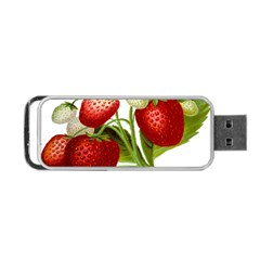 Food Fruit Leaf Leafy Leaves Portable Usb Flash (two Sides)