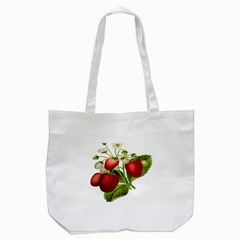 Food Fruit Leaf Leafy Leaves Tote Bag (white)