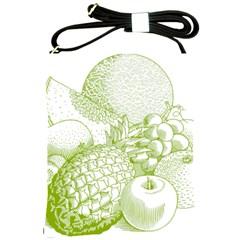 Fruits Vintage Food Healthy Retro Shoulder Sling Bags