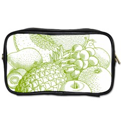 Fruits Vintage Food Healthy Retro Toiletries Bags