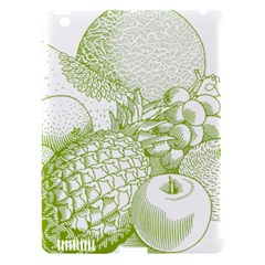 Fruits Vintage Food Healthy Retro Apple Ipad 3/4 Hardshell Case (compatible With Smart Cover)