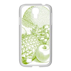 Fruits Vintage Food Healthy Retro Samsung Galaxy S4 I9500/ I9505 Case (white)