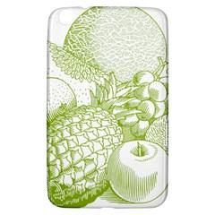 Fruits Vintage Food Healthy Retro Samsung Galaxy Tab 3 (8 ) T3100 Hardshell Case