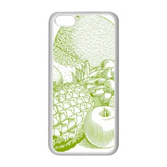 Fruits Vintage Food Healthy Retro Apple Iphone 5c Seamless Case (white)