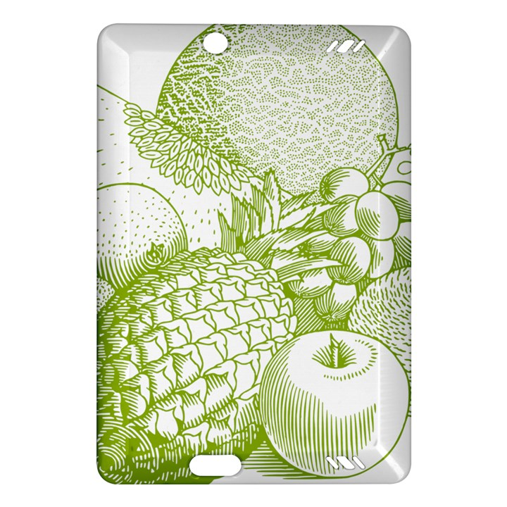 Fruits Vintage Food Healthy Retro Amazon Kindle Fire HD (2013) Hardshell Case