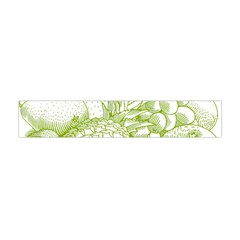 Fruits Vintage Food Healthy Retro Flano Scarf (mini)