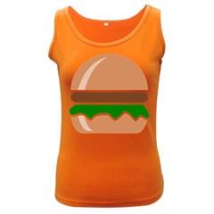 Hamburger Fast Food A Sandwich Women s Dark Tank Top