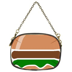 Hamburger Fast Food A Sandwich Chain Purses (one Side)