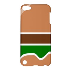Hamburger Fast Food A Sandwich Apple Ipod Touch 5 Hardshell Case