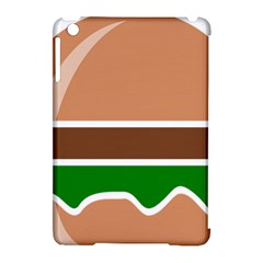 Hamburger Fast Food A Sandwich Apple Ipad Mini Hardshell Case (compatible With Smart Cover)