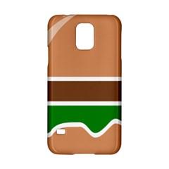 Hamburger Fast Food A Sandwich Samsung Galaxy S5 Hardshell Case