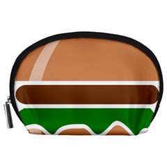Hamburger Fast Food A Sandwich Accessory Pouches (large)