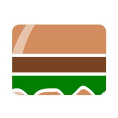 Hamburger Fast Food A Sandwich Double Sided Flano Blanket (mini)